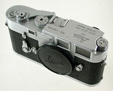 Leica M 3 m3 superclassic analogique rangefinder 1067059 1962 page overhauled CLA