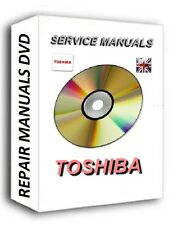 Laptop TOSHIBA Service Repair Manuals CD DVD Satelite Portege TECRA Equium