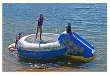 Water Trampoline Inflatable Lake Slide XL Large Bouncer Float Dock Kids Beach