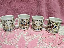 Villeroy & Boch Troubadour Cups Mugs  Septfontaines, Luxemburg Set of 4