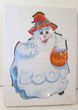 "Halloween Ghost Cookie Treat Plate Boo NIB 10"" Trick or Treat"