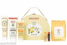 Burt's Bees Organic MAMA BEE Gift: Hand, Body & Foot Cream, Lip Balms, Wipes