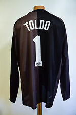 INTER MILAN 2006/2007 GOALKEEPER FOOTBALL SHIRT JERSEY NIKE TOLDO #1 REPLICA
