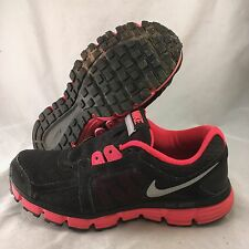 Nike Dual Fusion ST2 - 454240-003 - Black Pink - Women's Size 7.5 - Great