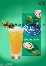 6 x Rubicon Guanabana Juice Drink (1 litre) Soursop