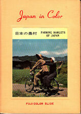 Japan In Color Fuji Color Slide Farming Hamlets of Japan 1957 10 Slides Tea Rice