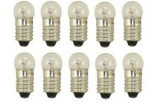 10x 1446 Miniature Light Bulb Screw Lamp Mini Auto E10 Replacement lights 12v