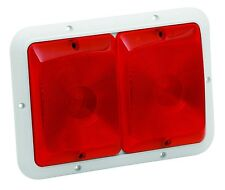 Bargman 30-84-547 Recessed Double Trailer Light For 84 Series Red White Base