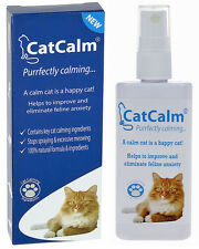 CatCalm Natural Cat Calming Spray. Reduces Feline Anxiety, Spraying & Stress