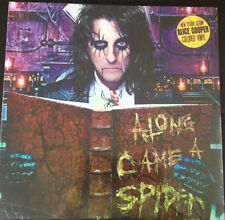 ALICE COOPER-ALONG CAME A SPIDER-COLORED VINYL-IMPORT-GERMANY-STEAMHAMMER-RARE