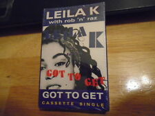 SEALED RARE OOP Leila K CASSETTE TAPE Got to Get single ROB 'N' RAZ StoneBridge
