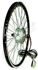 """REAR ELECTRIC HUB BRUSHLESS MOTOR 36V 250W ROUE ARRIERE JANTE 26"""""""