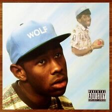 TYLER THE CREATOR Wolf Ltd Ed RARE Poster Display Cherry Bomb Odd Future OFWGKTA