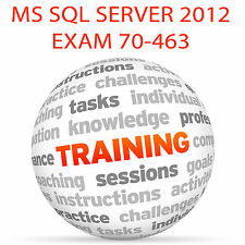 Examen de MS SQL Server 2012 70-463 - Video Tutorial DVD de entrenamiento