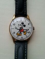 Incredibly RARE Vintage 1961 Longines Columbus Mickey Mouse Watch + Original Box
