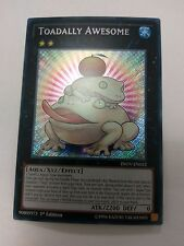 YUGIOH TOADALLY AWESOME SECRET VARIOUS EDS NEAR MINT INOV-EN052