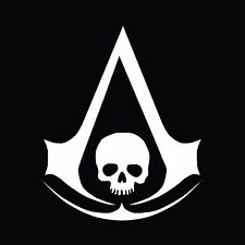 Assassins Creed Black Flag Vinyl Decal - Car Truck Window Sticker Oracal Jeep PS