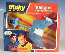 Dinky Toys 357 Klingon Battle Cruiser Star Trek Raumschiff Enterprise OVP #4387