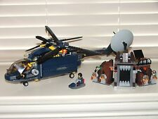 LEGO 8971 - Agents Aerial Defense Unit - 100% Complete w/ Minifigs and Manuals