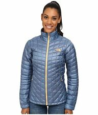 The North Face ThermoBall™ Full Zip Womens Jacket Cool Blue Size XL New