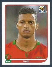 PANINI-SOUTH AFRICA 2010 WORLD CUP- #557-PORTUGAL & MANCHESTER UNITED-NANI
