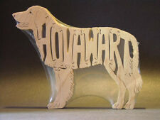 New Hovawart Dog Amish Wood Puzzle Toy Hand Made Usa