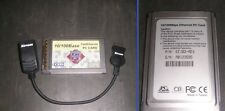 GigaFast EE102-AEX 10/100 Mbps Ethernet PCMCIA PC Card w/ Dongle