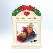 Hallmark 2012 Our First Christmas Together Photo Holder Ornament