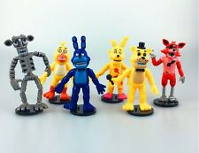 FIVE NIGHTS AT FREDDY'S FNAF COLLECTOR'S TOYS  set of 6 items 4'' inches  V526