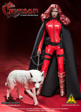 "Flirty Girl Collectibles 1/6 Scale 12"" Female Heroes of the North Crimson DX003"