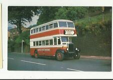 bus / coach /tram KEIGHLEY-WEST YORKSHIRE K 451 1928 leyland  postcard