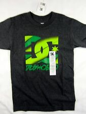 DC Shoes Skate company Dyrdek logo tee shirt men's charcoal size XS