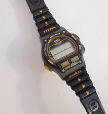 Timex Women's Retro Digital Triathlon Ironman Watch 8 Lap Rubber Chrono Alarm