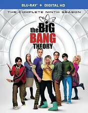 The Big Bang Theory : Season 9 (Blu-ray + Digital HD , 2016,2-Disc w/ Slipcover)