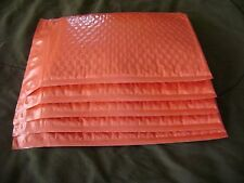 20 Red 6 x 9 Bubble Mailer Self Seal Holiday Envelope Padded Protective Mailer