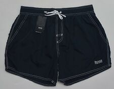 Men's HUGO BOSS Black Swim Trunks Swimsuit Large L NWT NEW Nice!