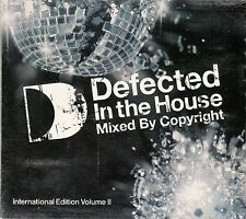 DEFECTED IN THE HOUSE, MIXED BY COPYRIGHT, INTERNATIONAL EDITION VOL. 2 / 2 CDs