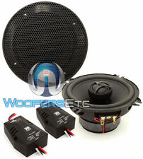 "MOREL TEMPO 5C 5.25"" INTEGRATED CAR AUDIO 2-WAY COAXIAL SPEAKERS CROSSOVERS NEW"