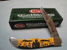 Case Knife - Halloween 2008 ADE - Large Folding Hunter - 6165SS- Only 350 Made