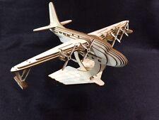 Laser Cut Wooden Solent Sea Plane 3D Model/Puzzle Kit
