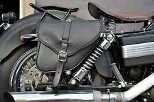 SADDLE BAGS LEFT&RIGHT SIDE FOR HD  DYNA MODELS  BEST ITALIAN LEATHER&QUALITY