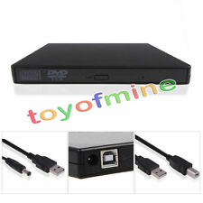 USB 2.0 External DVD ROM Player Reader Combo CD±RW Burner Drive