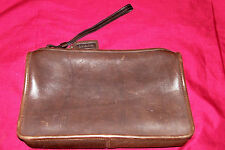 Coach Leatherware Purse Bag Clutch Womens Ladies Brown Leather 808-6045 Small