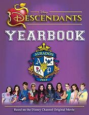 Disney Descendants Yearbook by Disney (Hardcover) 64 pages New Free Shipping....