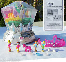 Mini Polly Pocket Diamond Wonderland Diamant 100% complete Diadem Licht.