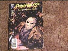 FRIDAY THE 13TH HOW I SPENT MY SUMMER VACATION  COMIC BOOK VF/NM