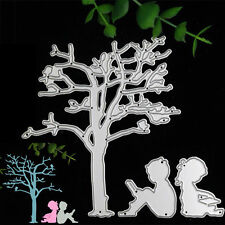 Cute Tree Kid Metal Cutting Dies Stencil Scrapbook Album Paper Card Embossing