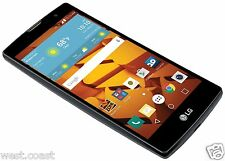 "New 5.0"" LG Volt 2 HD TouchScreen Boost Mobile No Contract Android CDMA Black"