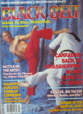 3/92 BLACK BELT MAGAZINE DAVID CARRADINE BILL WALLACE KARATE KUNG FU MARTIAL ART