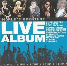 World's Greatest LIVE album  incl.  11 min. Radar Love - Golden Earring